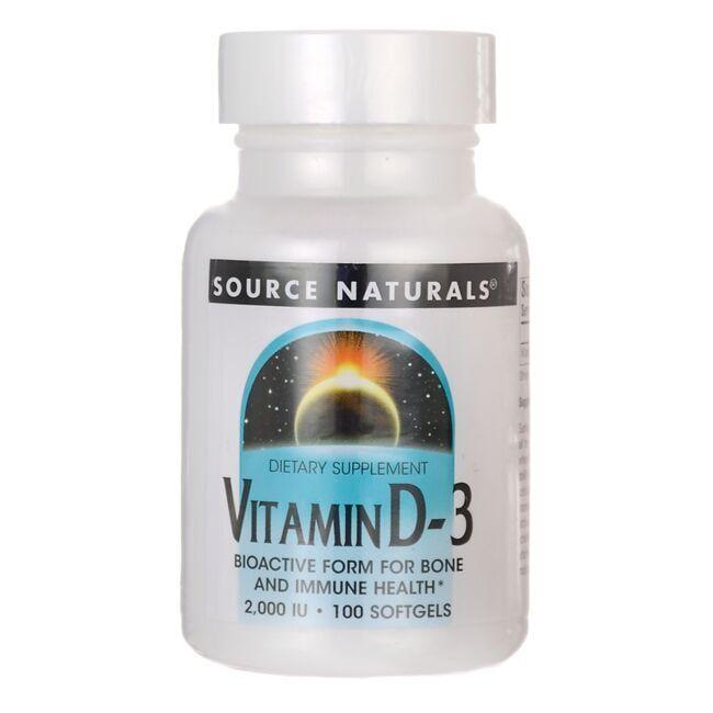 Source NaturalsVitamin D-3