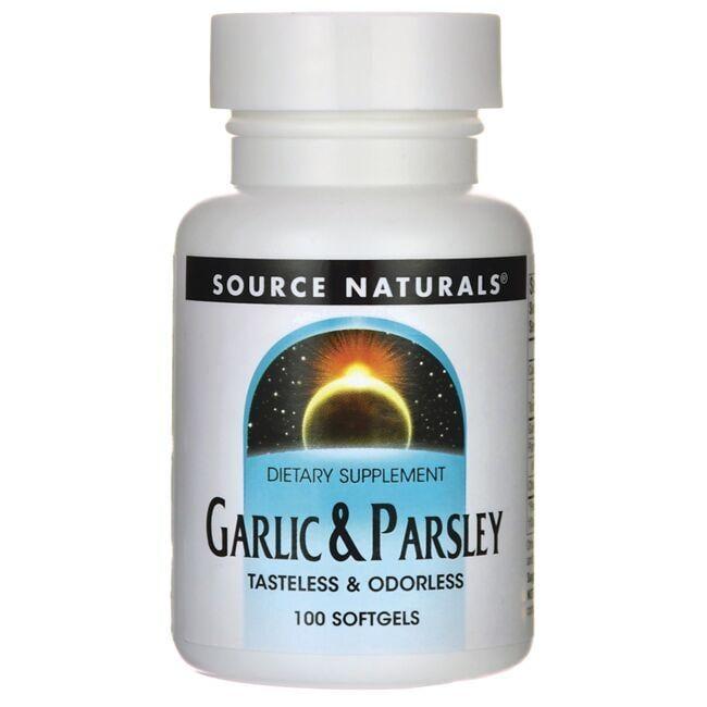 Source NaturalsGarlic & Parsley
