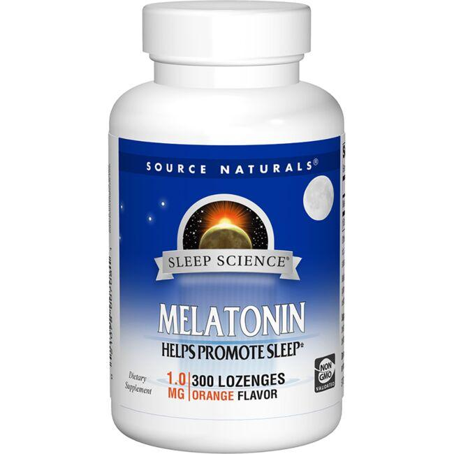 Source NaturalsMelatonin - Orange Flavored