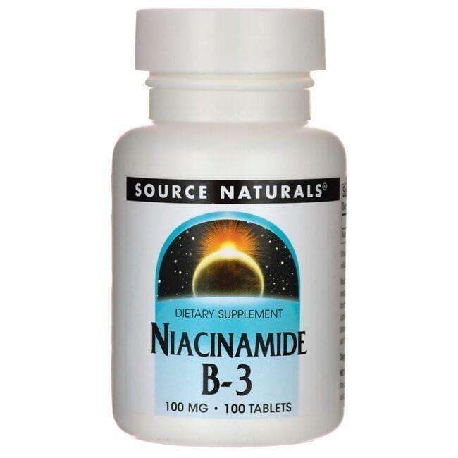 Source NaturalsNiacinamide B-3
