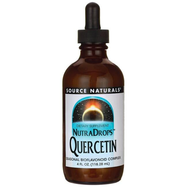 Source NaturalsNutraDrops Quercetin