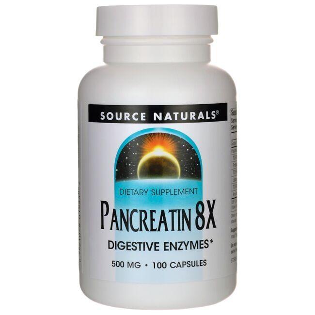 Source NaturalsPancreatin 8X