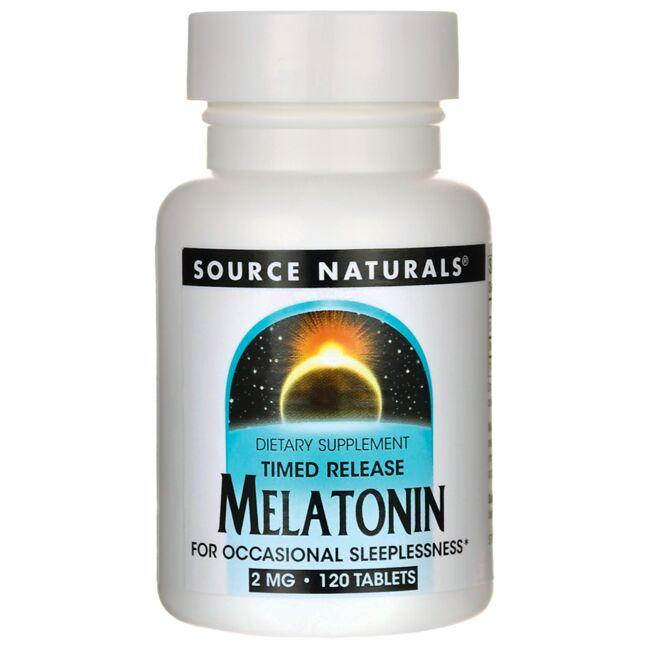 Source Naturals Timed Release Melatonin