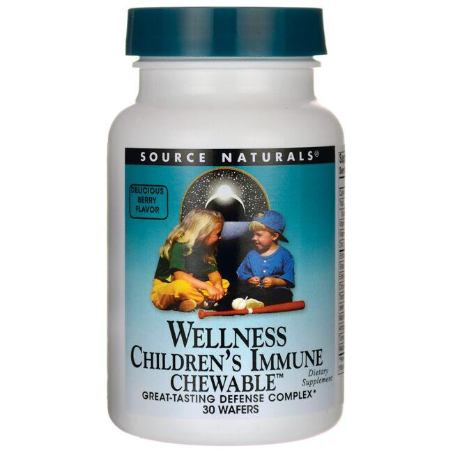Source NaturalsWellness Children's Immune Chewable