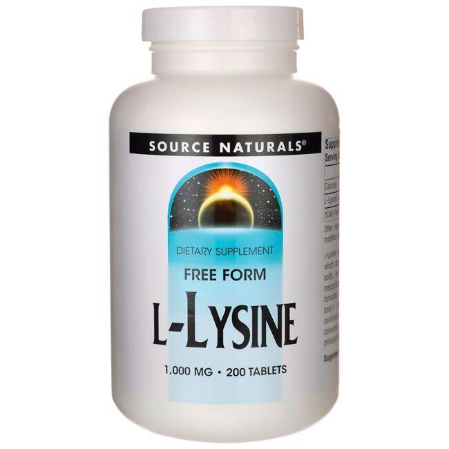 Source NaturalsFree Form L-Lysine