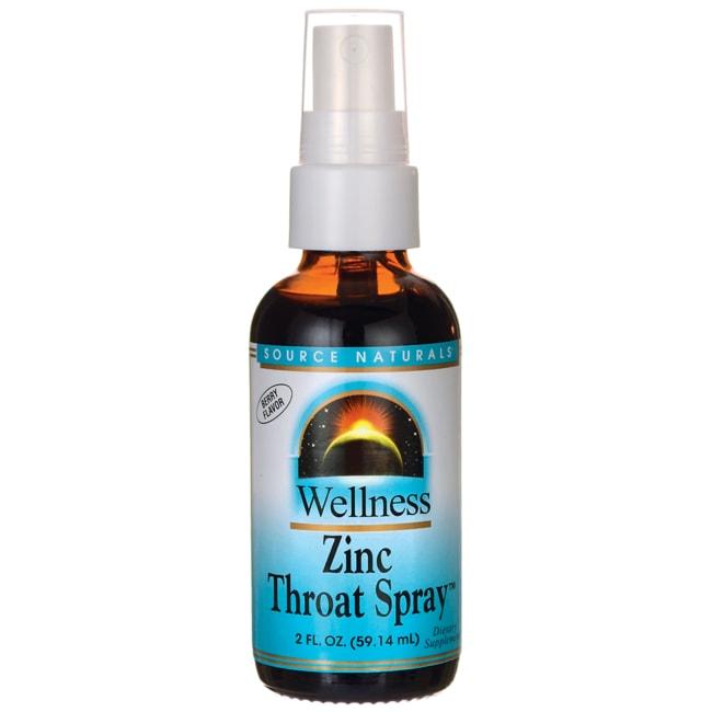 Source NaturalsWellness Zinc Throat Spray - Berry Flavor