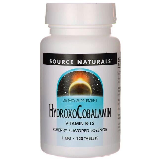Source Naturals HydroxoCobalamin - Cherry Flavor