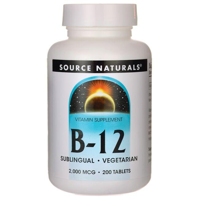Source NaturalsB-12