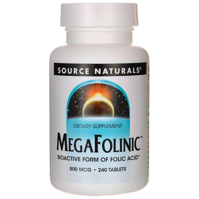 Source NaturalsMegaFolinic