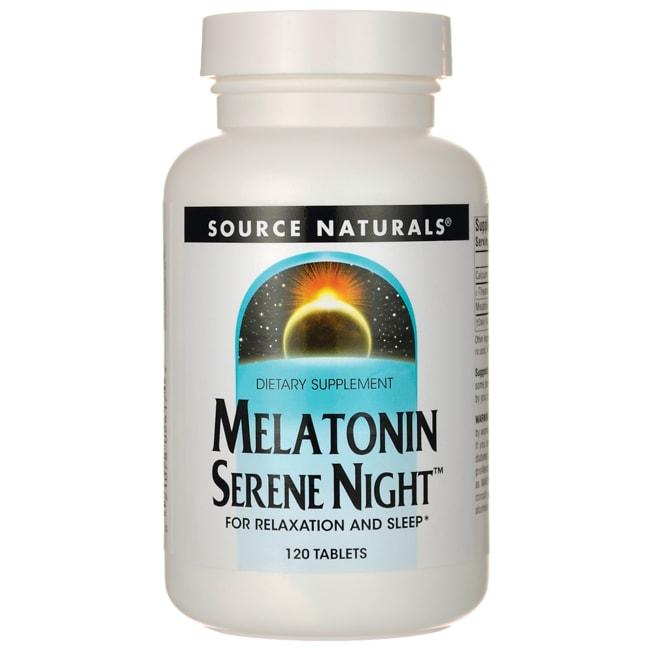 Source NaturalsMelatonin Serene Night