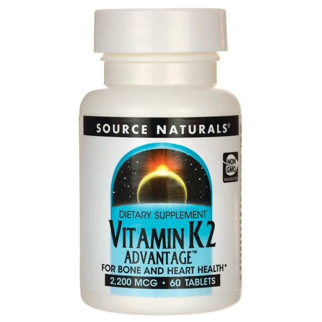 Source NaturalsVitamin K2 Advantage
