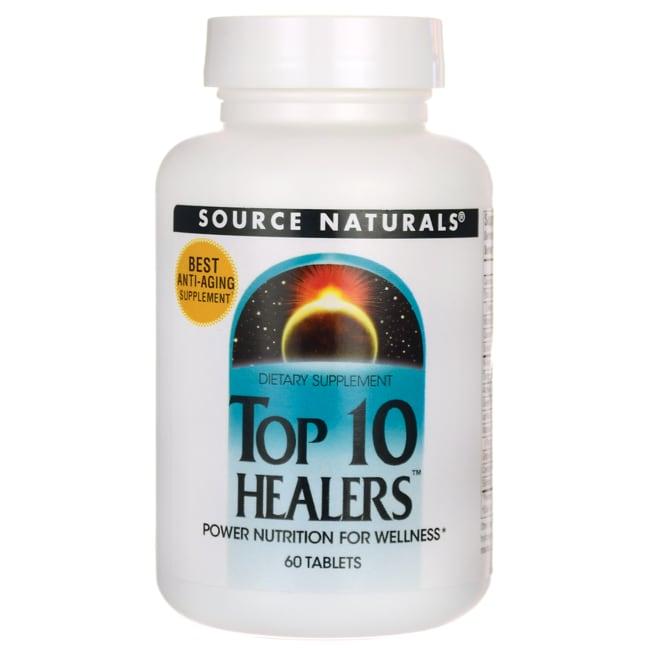 Source NaturalsTop 10 Healers