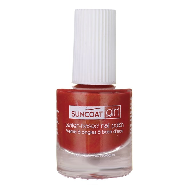 SuncoatGirl Water-Based Nail Polish Golden Sunlight