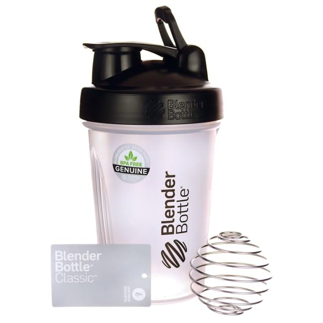 SundesaBlender Bottle with Adjustable Loop 20oz Black