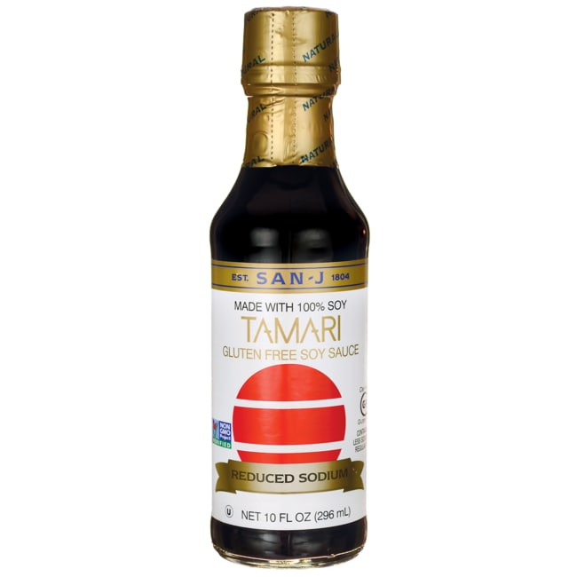 San-JTamari Gluten Free Soy Sauce - Reduced Sodium