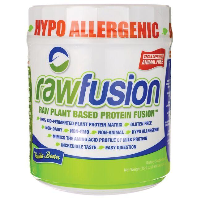 San NutritionRawFusion Plant Based Protein - Vanilla Bean