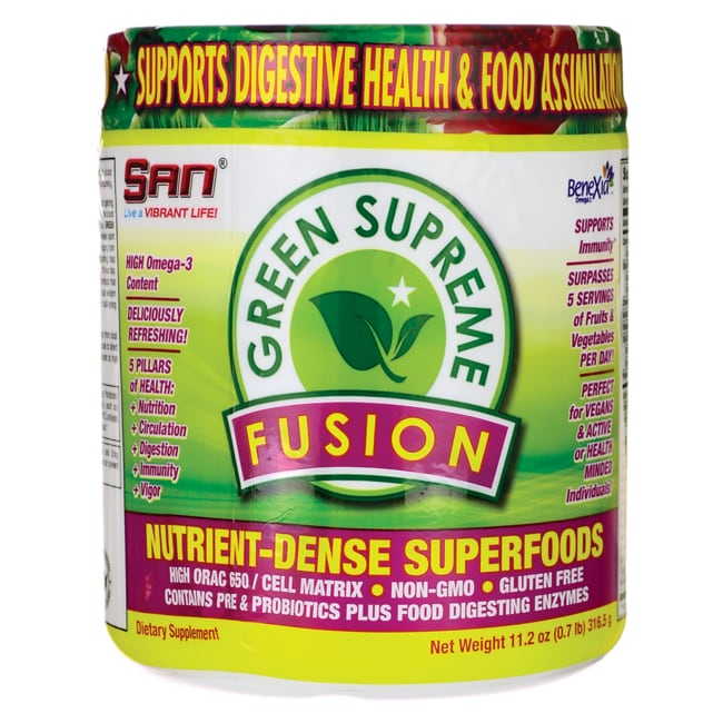 San NutritionGreen Supreme Fusion