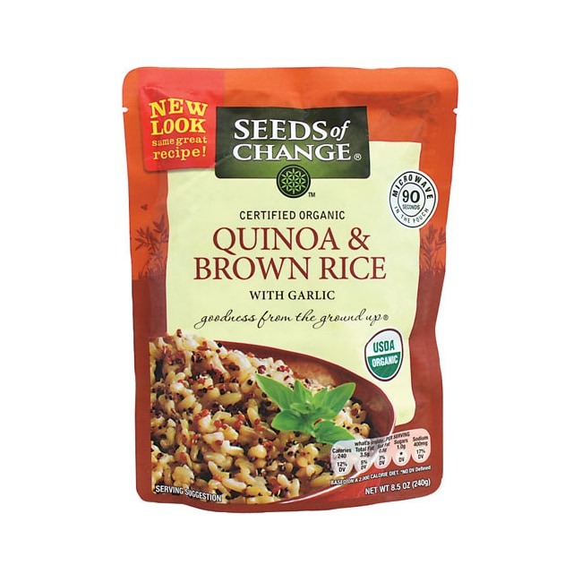Seeds of ChangeQuinoa and Whole Grain Brown Rice