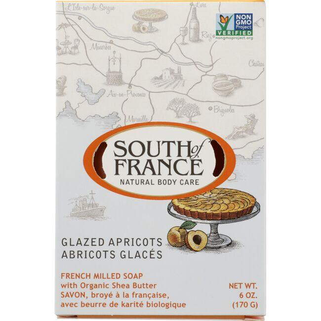 South of FranceFrench Milled Oval Soap -Glazed Apricots