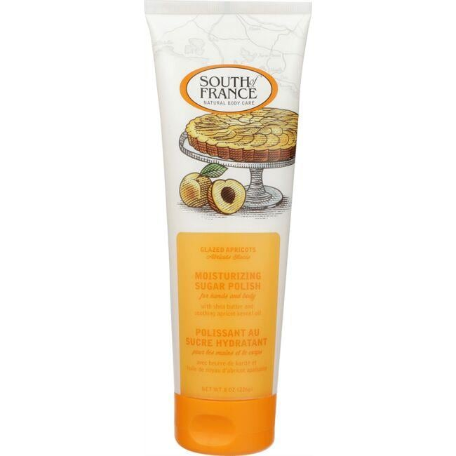 South of France Moisturizing Sugar Polish -Glazed Apricots