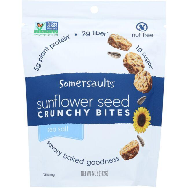 Somersault Snack Co. Sunflower Seed Crunchy Bites - Sea Salt
