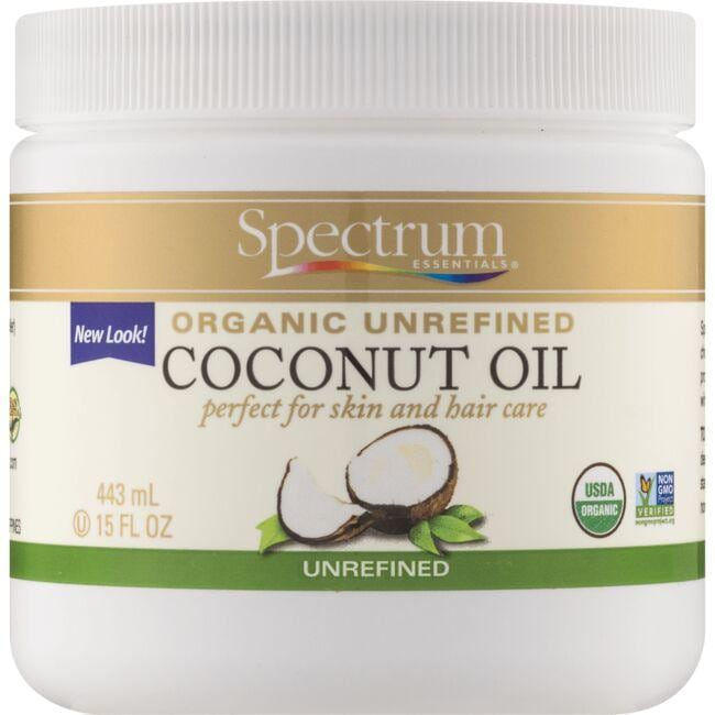 Spectrum Essentials Organic Unrefined Coconut Oil