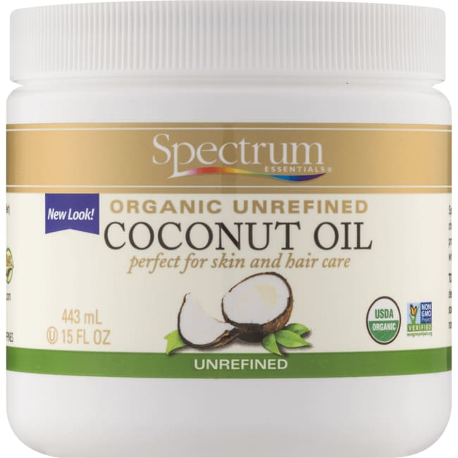 Spectrum Essentials Organic Coconut Oil Unrefined