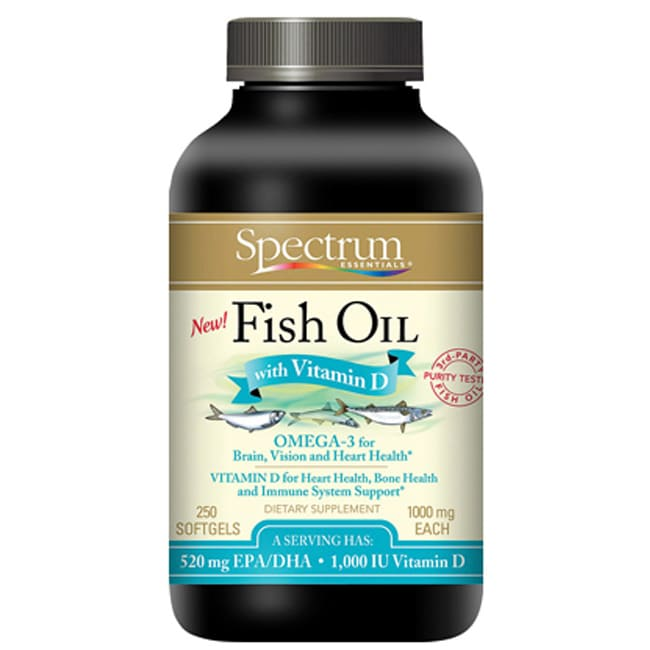Spectrum EssentialsFish Oil with Vitamin D