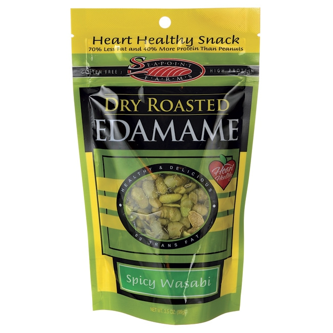 Seapoint FarmsDry Roasted Edamame Spicy Wasabi