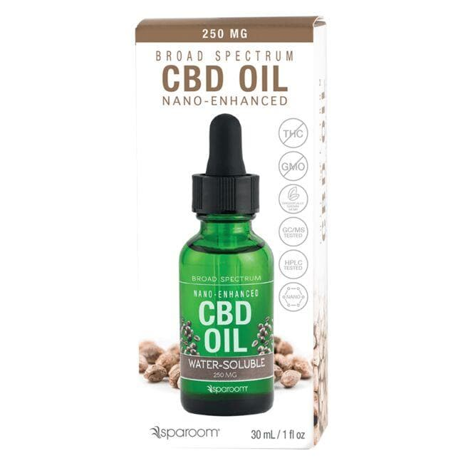 SpaRoom Essentials Broad Spectrum Water Soluble CBD Oil