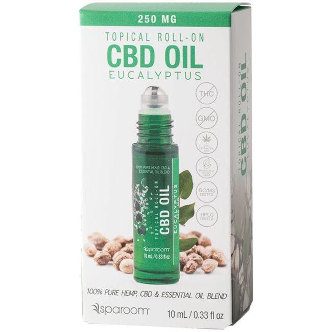 SpaRoom EssentialsRoll-on CBD Oil- Eucalyptus
