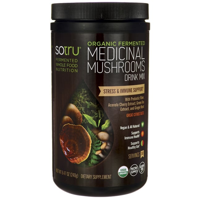 SotruOrganic Fermented Medicinal Mushrooms Drink Mix