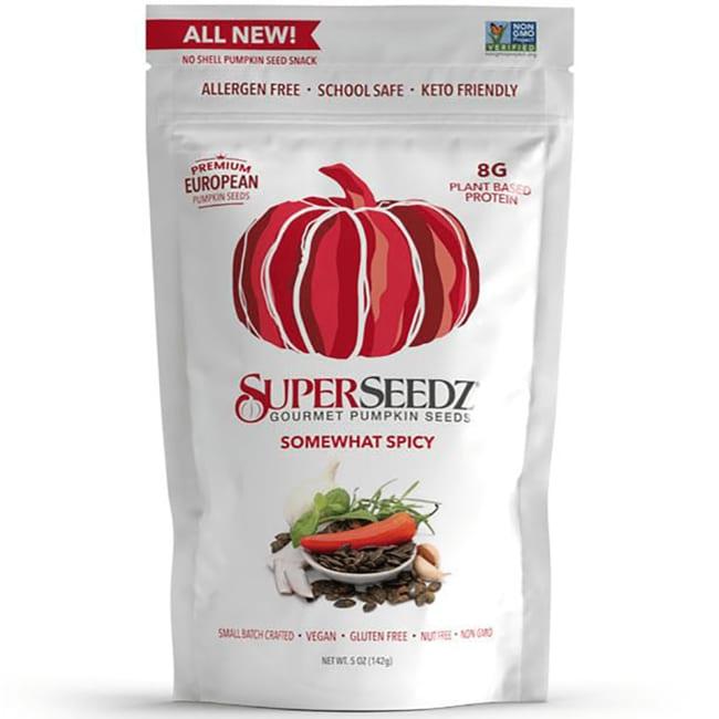 SuperSeedzGourmet Pumpkin Seeds - Somewhat Spicy