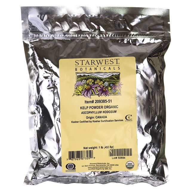 Starwest Botanicals Kelp Powder Organic