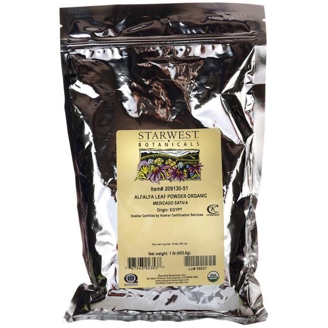 Starwest BotanicalsAlfalfa Leaf Powder Organic