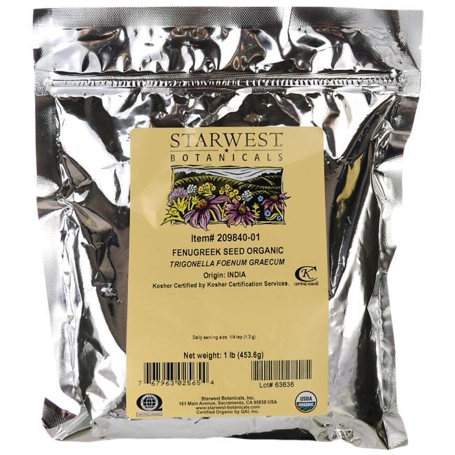 Starwest BotanicalsOrganic Fenugreek Seed