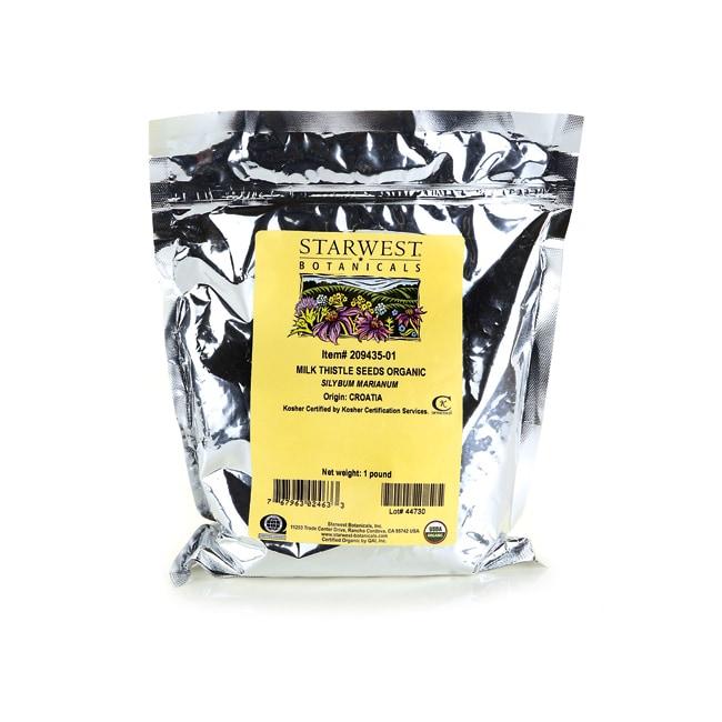 Starwest Botanicals Milk Thistle Seeds Organic