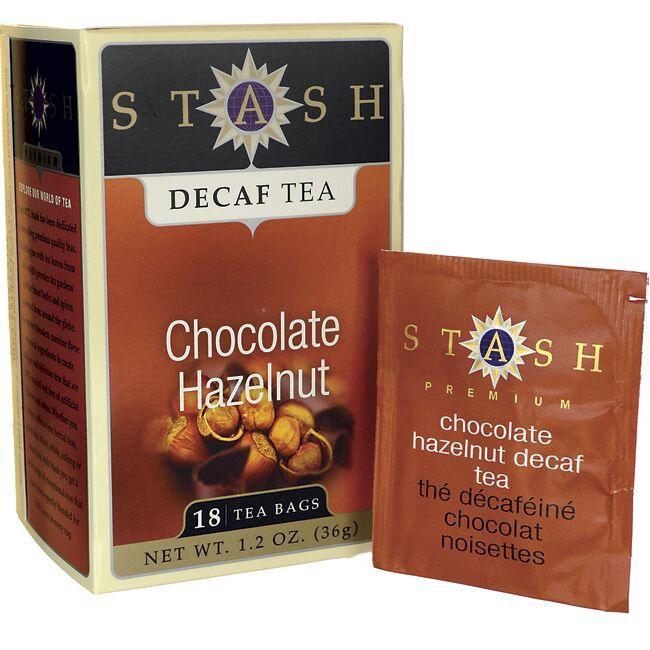 Stash TeaChocolate Hazelnut Decaf Tea