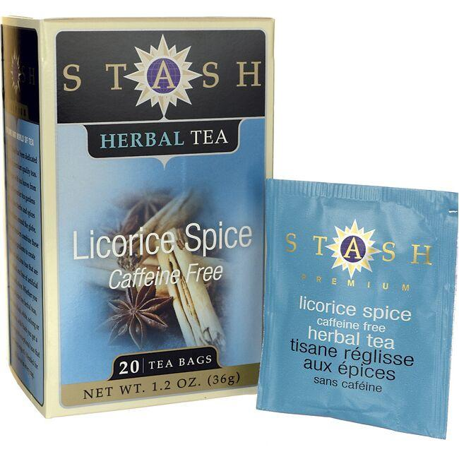 Stash Tea Licorice Spice Herbal Tea Caffeine Free