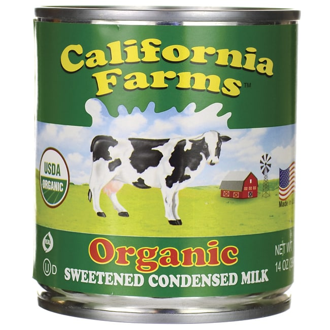 SantiniOrganic Sweetened Condensed Milk