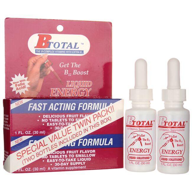Sublingual B TotalBTotal Liquid Energy - Twin Pack