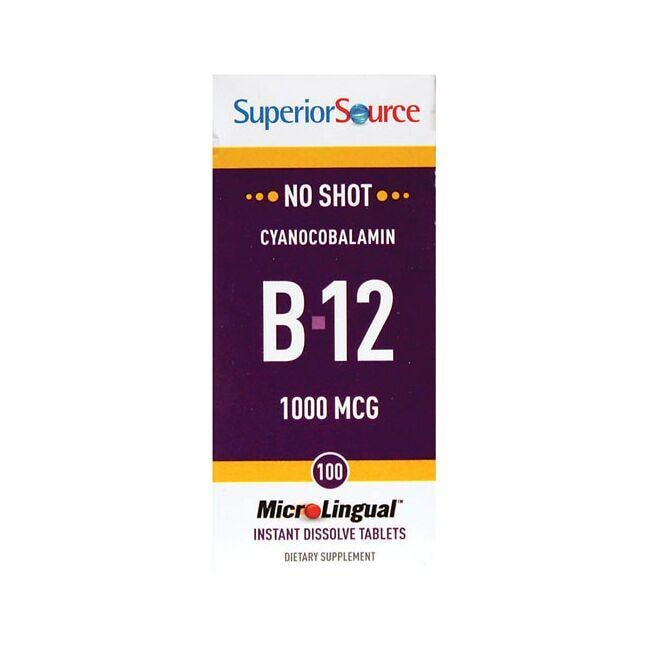 Superior Source B-12 Cyanocobalamin