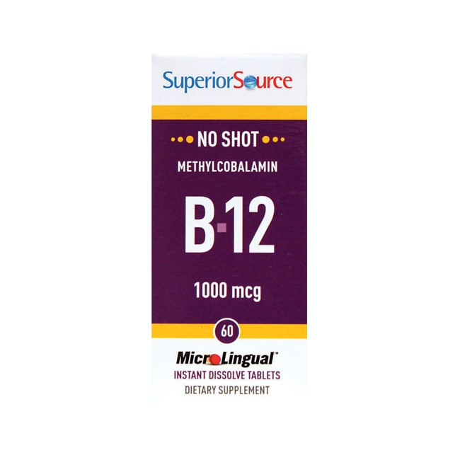 Superior Source B-12 Methylcobalamin