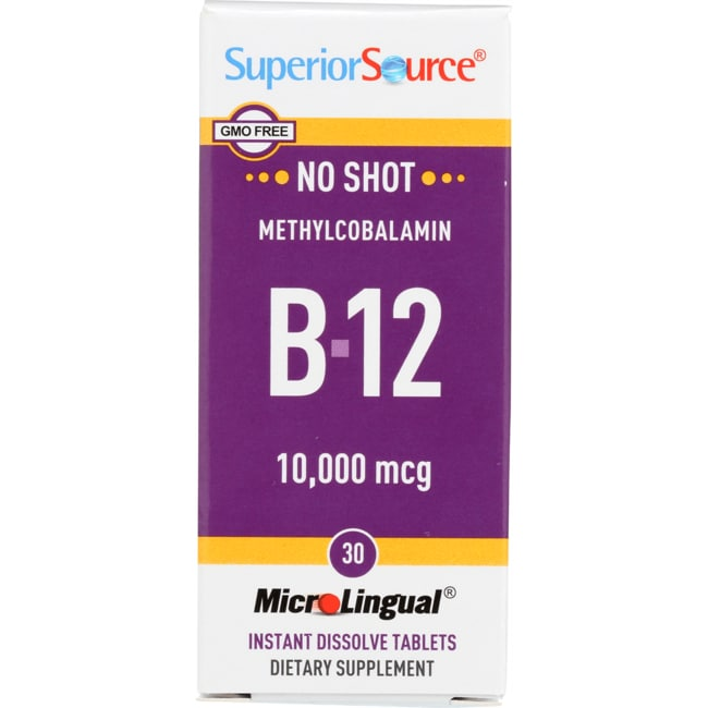 Superior SourceB-12 Methylcobalamin