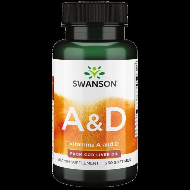 Swanson PremiumVitamin A & D