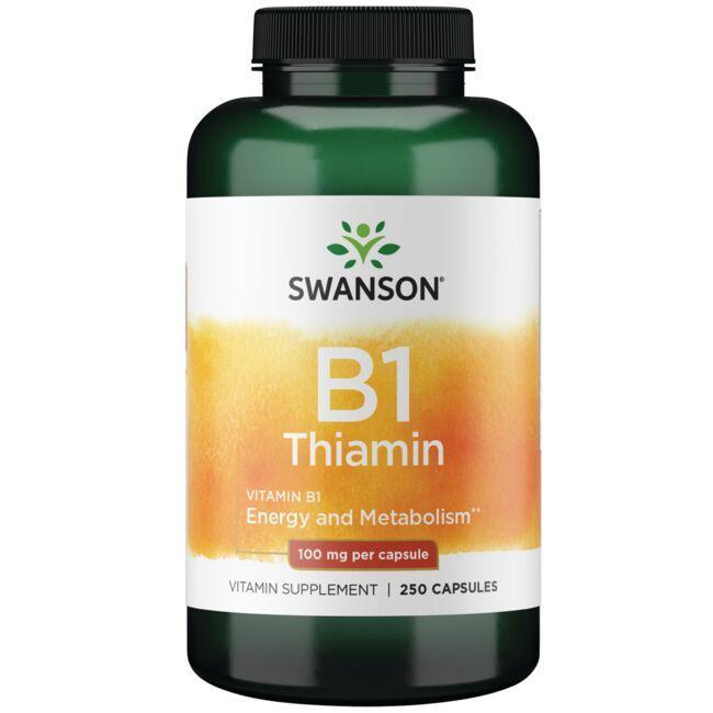 Swanson PremiumVitamin B-1 (Thiamin)