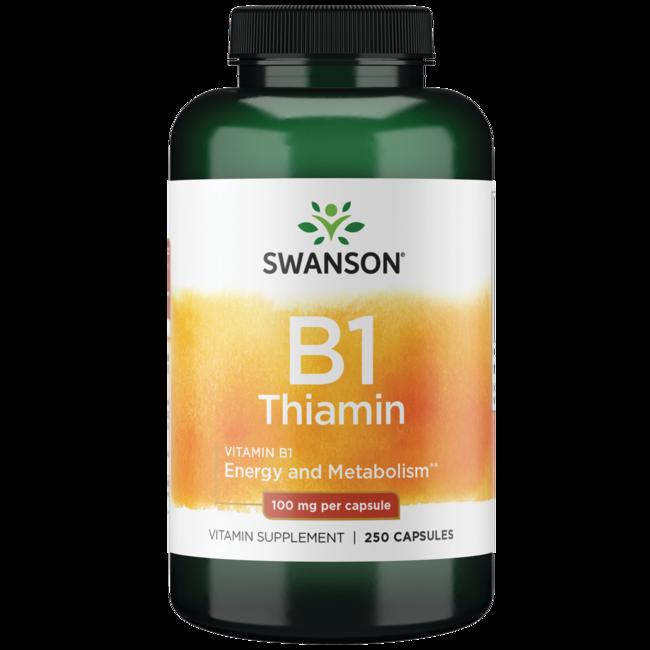 Swanson Premium Vitamin B-1 (Thiamin)