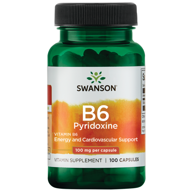 Swanson PremiumVitamin B-6 (Pyridoxine)