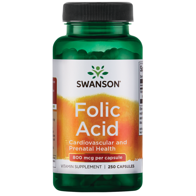 Swanson Premium Folic Acid