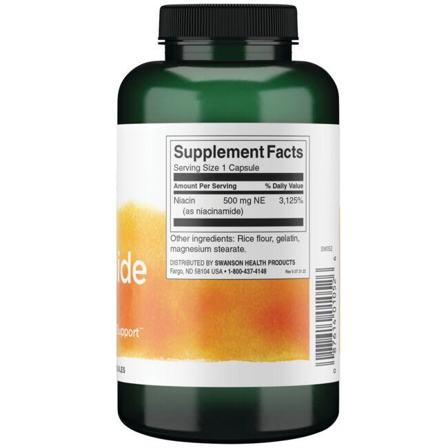 Swanson PremiumNiacinamide Close Up